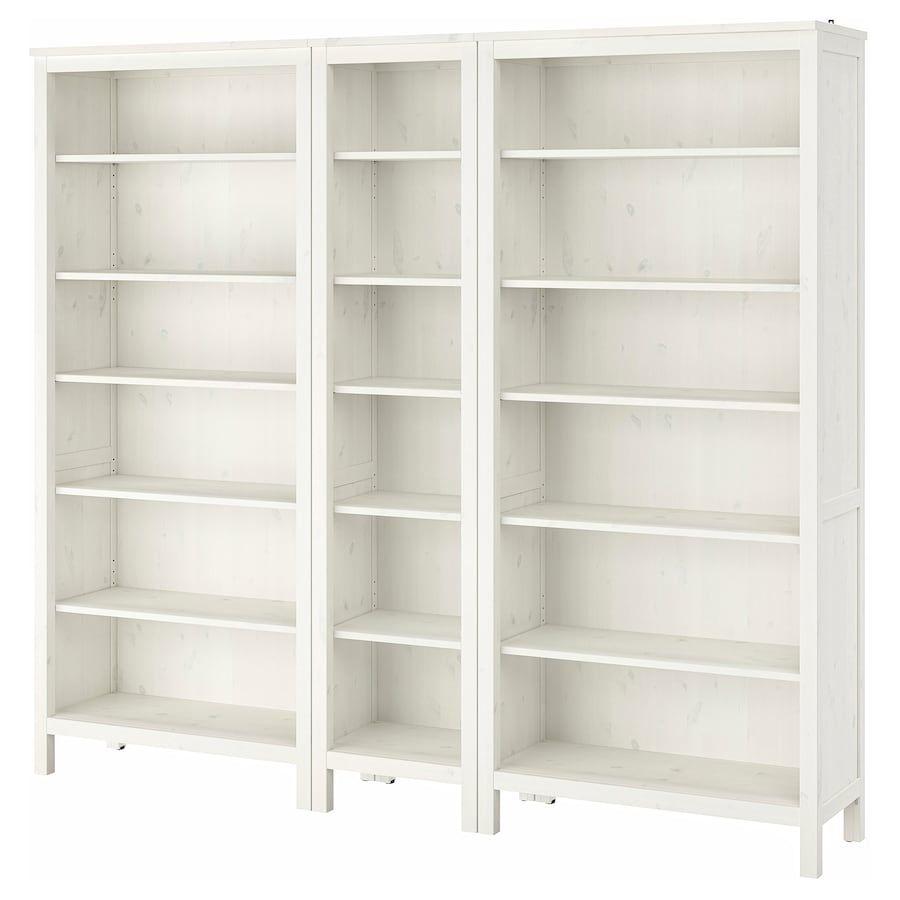 Hemnes Bookcase White Stain 90 1 8x77 1 2 Hemnes Bookcase Ikea Hemnes Bookcase White Bookcase