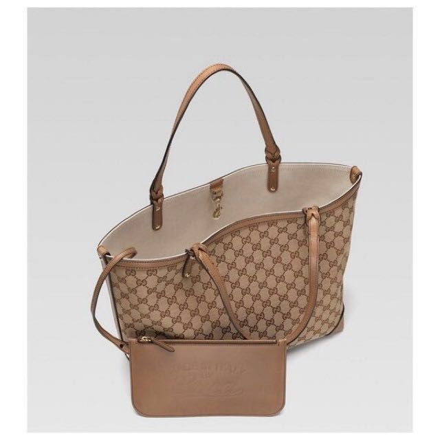 d4619919c Gucci craft medium tote with detachable pocket on Carousell | Travel ...