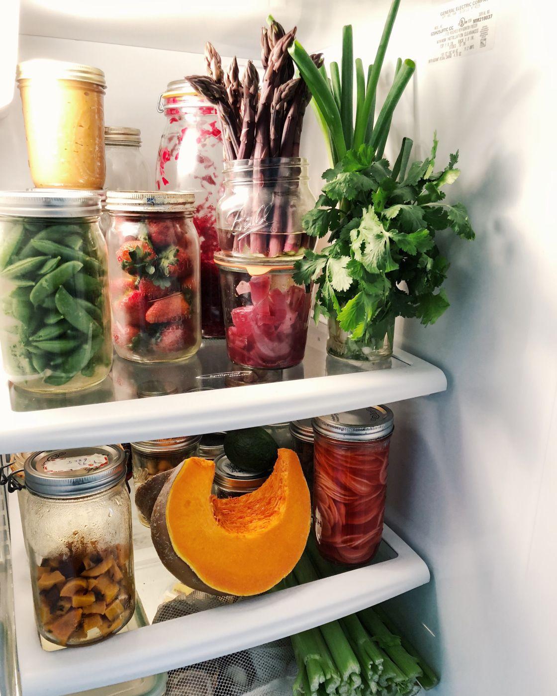 zero waste fridge zero waste kitchen zero waste mama eat on kitchen organization zero waste id=25297