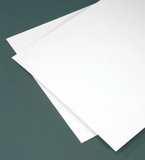 White Styrene Plastic 11 Inches Wide X 14 Inches Long X 020 Inch Thick 2 Sheets Styrene Plastic Styrene Styrene Sheets