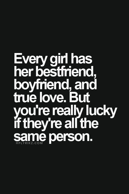 More than lucky | Boyfriend quotes, Inspirational quotes, Quotes