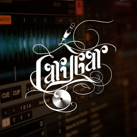 Logotipo realizado para presentar a Carycar DJs. #logo #diseño #design #music