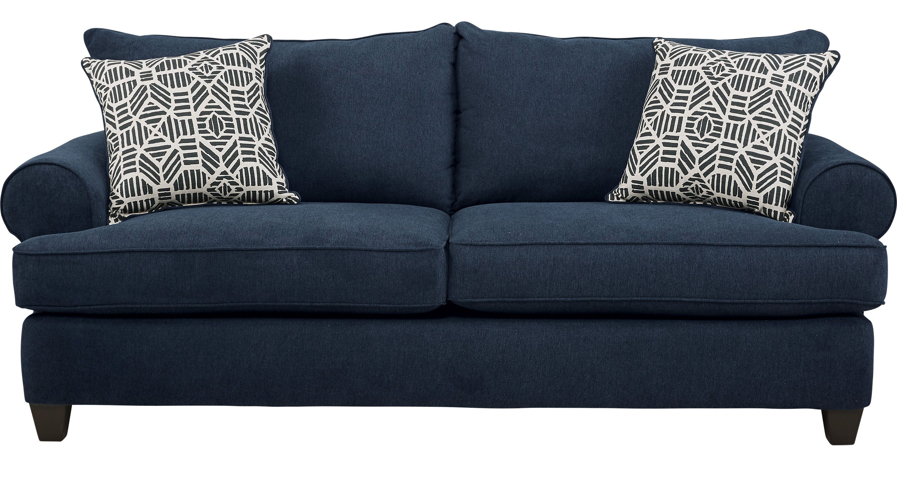 Sleeper Sofas Rooms To Go Emsworth Navy Sleeper 1032908p Navy Sofa Sofa Sleeper Sofa