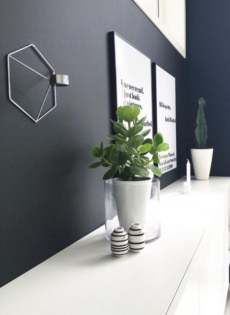 Black paint - Jotun dempet sort Photo by @nerbyterrasse32 on - dekoration für wohnzimmer