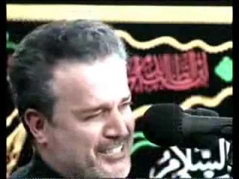 مقطع حزيـــن جدا من قصيدة لا تنسه الوصيه ليلة 7 محرم1435 هـ لملا باسم ال...