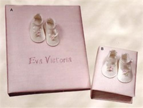 Baby shoes personalized baby photo album medium httpwww baby shoes personalized baby photo album medium http247babygifts negle Gallery