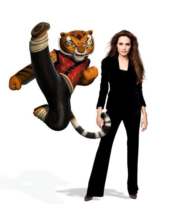 kung fu panda 2\' tigress voiced by angelina jolie (R) | Kung Fu ...
