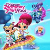 e3c3bbc7dc Shimmer and Shine: The Great Zahramay Falls Race | Rainbows ...