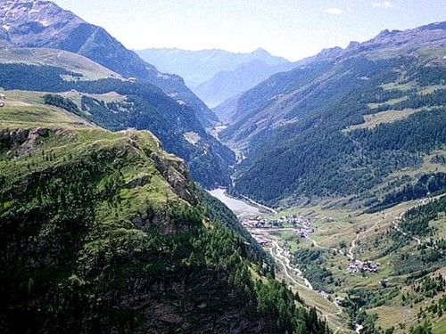 Val Cardinello - from Stuetta toward south