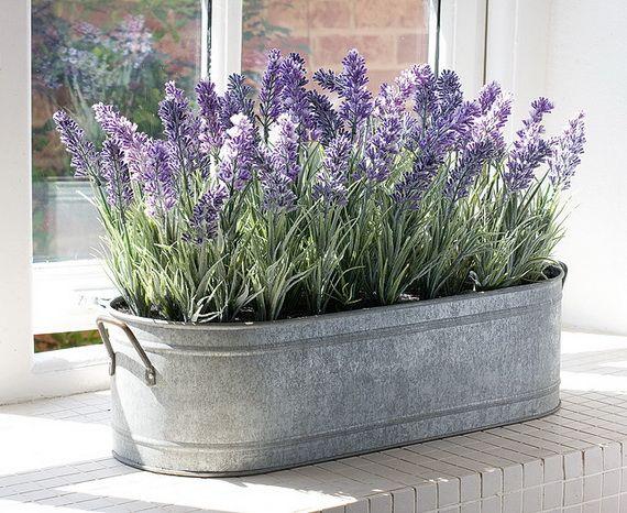 artificial interior decorative plants lavender decor pinterest garten lavendel und garten. Black Bedroom Furniture Sets. Home Design Ideas