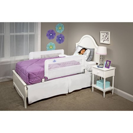 Regalo Double Sided Swing Down Safety Bed Rail Includes Two
