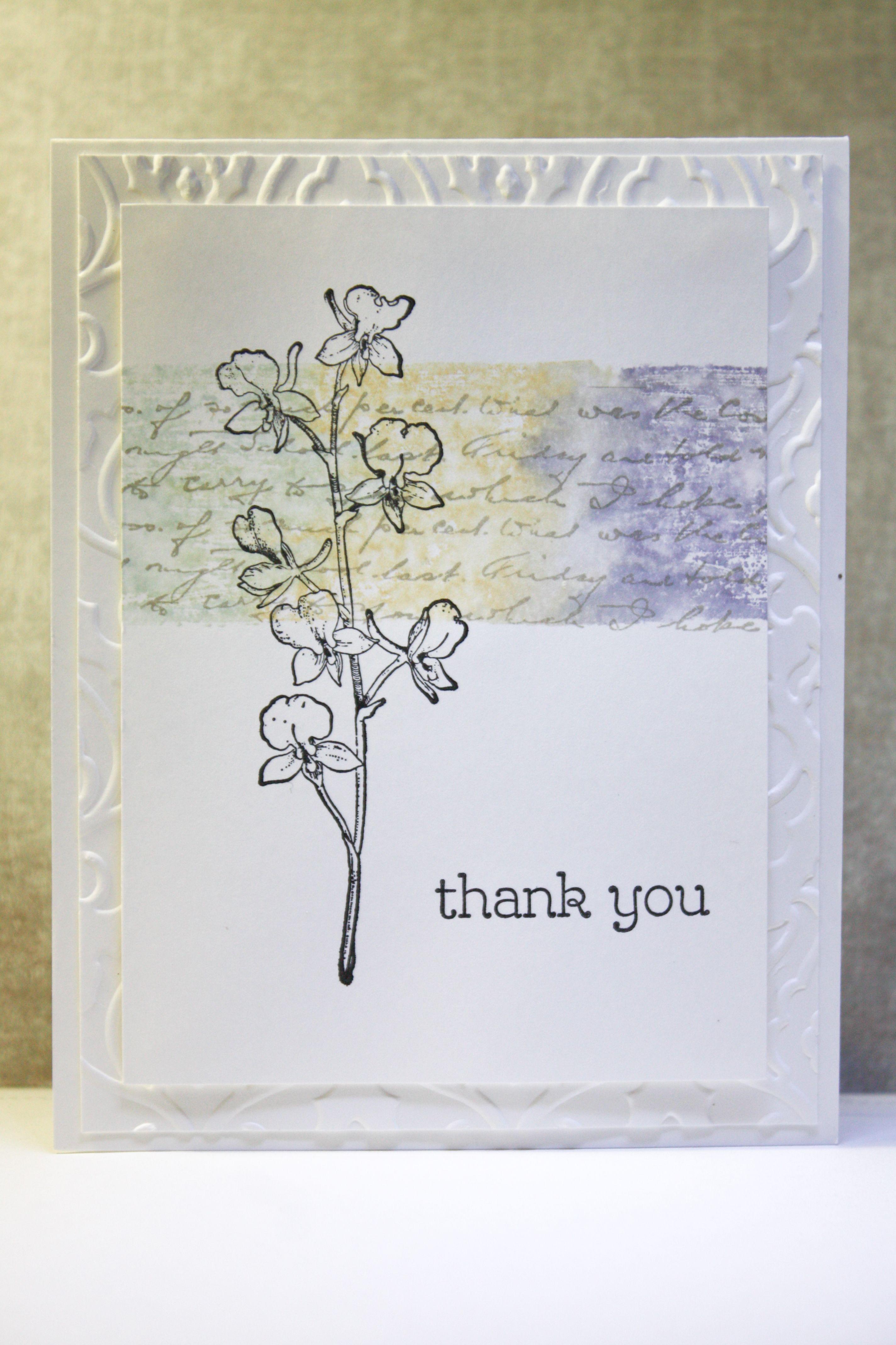 You Make Me Happy Watercolour Block Card