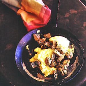 Artichokes with Scrambled Eggs Recipe | SAVEUR