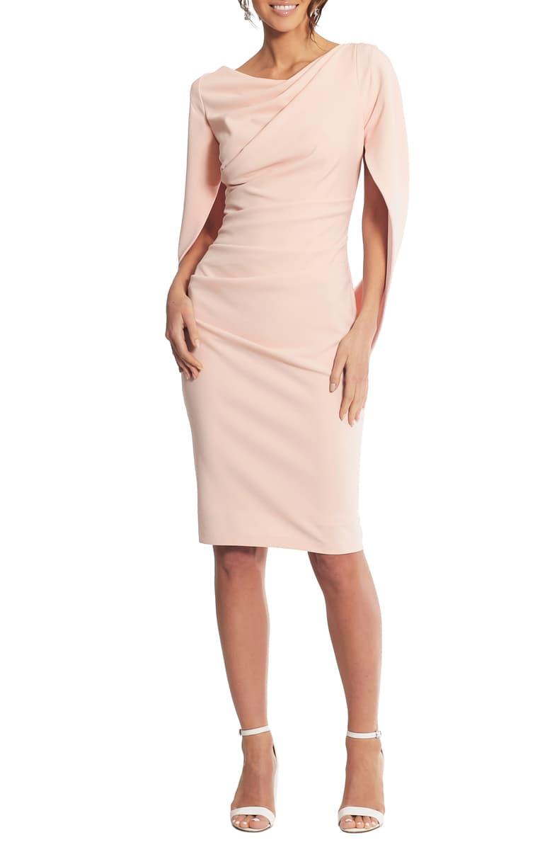 Betsy Adam Drape Back Scuba Crepe Cocktail Dress Nordstrom Cocktail Dress Lace Dresses Nordstrom Dresses [ 1196 x 780 Pixel ]