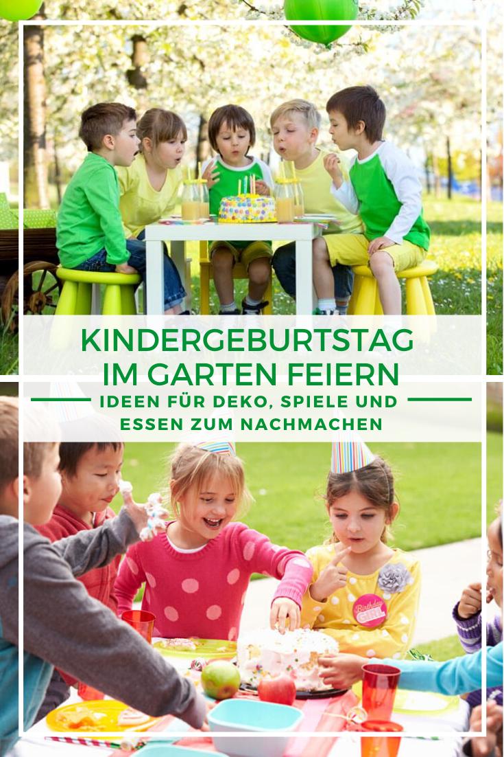 Kindergeburtstag Im Garten Ideen Fur Deko Spiele Essen In 2020 Kindergeburtstag Kinder Kindergeburtstag Spiele