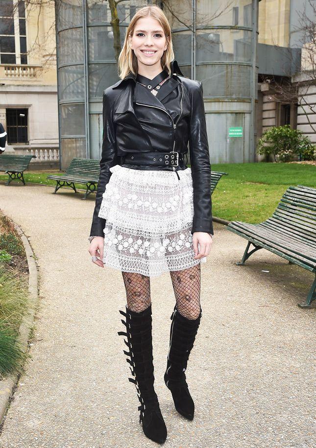 По воле рока: незаменимые для жизни кожаные куртки | Glamour.ru