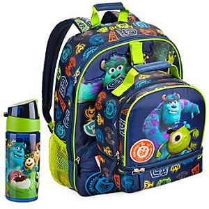 72d68040c Disney Monsters University Backpack & Lunch Tote Collection   Disney Store