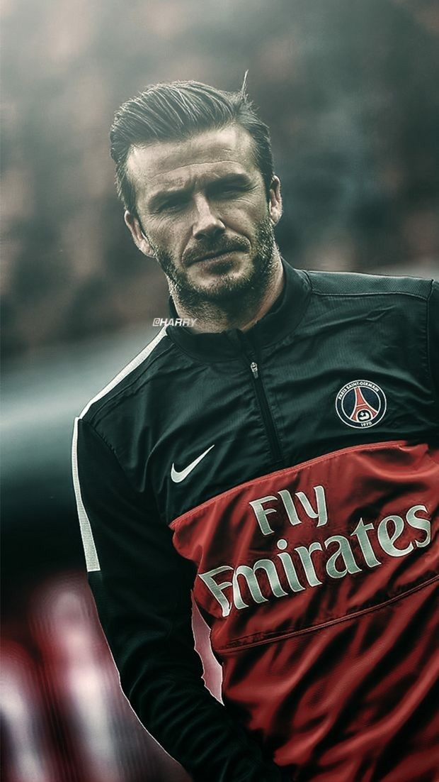 David Beckham Football Psg Legend David Beckham Soccer David Beckham Football Beckham Football