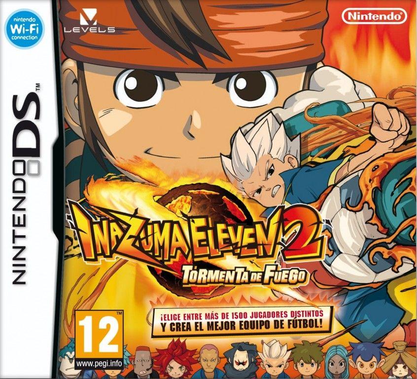 Inazuma Eleven 2 Tormenta De Fuego Eur Español Nds Game Pc Rip Descarga Juegos Nintendo Ds Juegos Pc