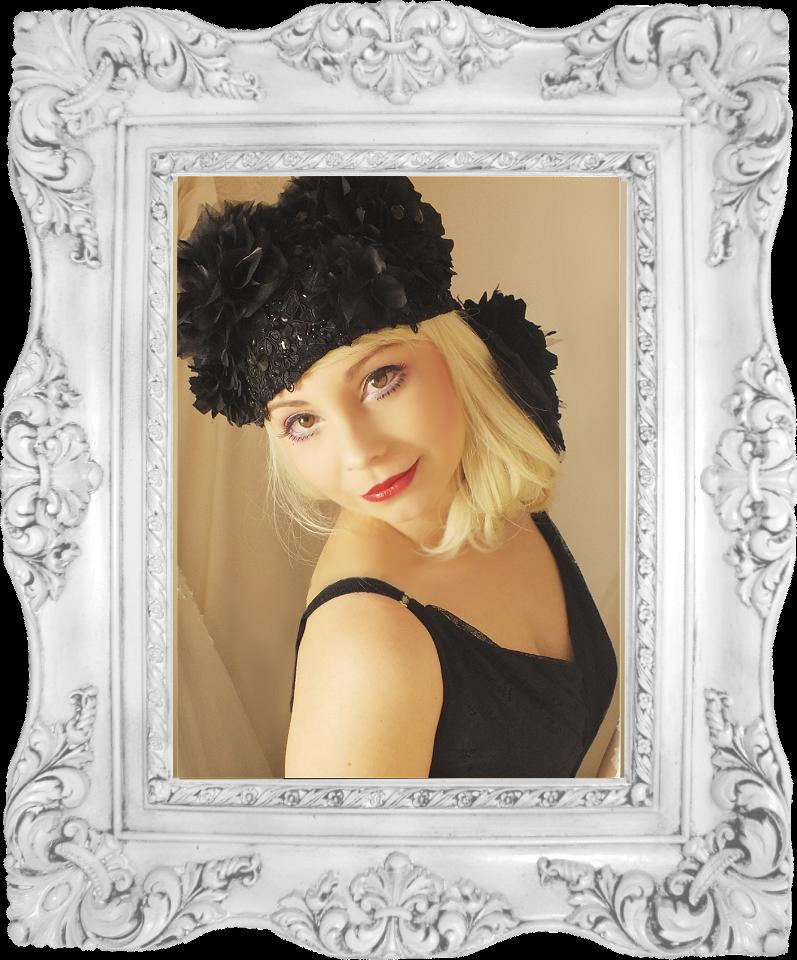 Bandeaux Fleuris Photo Shoot; showcasing new headdress Model; Gemma Hair/makeup & photographer; Jade