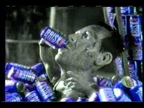 Bruce Willis Lipton Brisk Iced Tea Ad Fixed Funny Commercials Tv Adverts Vintage Scrapbook