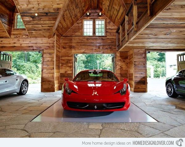 Every Man s Dream Structure  a Creative and Luxurious House Garage. Every Man s Dream Structure  a Creative and Luxurious House Garage