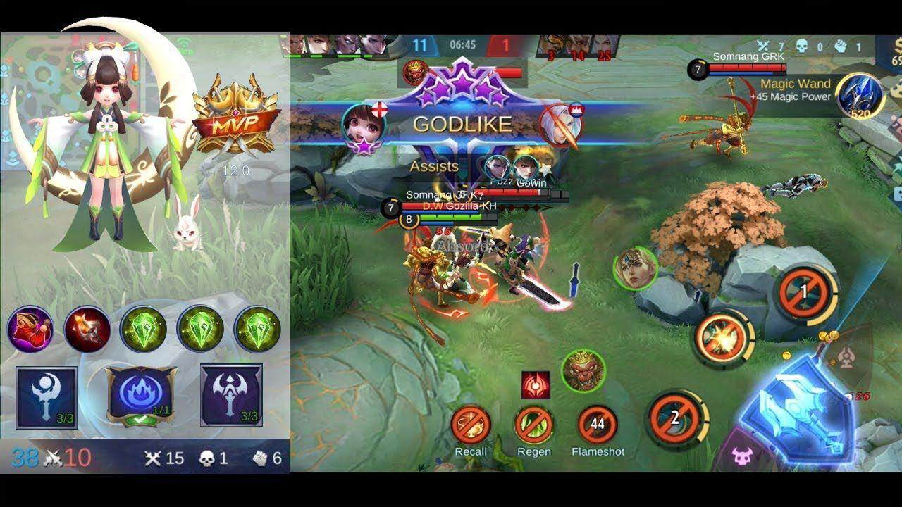 Mobile Legends Chang E Build New Meta 2020 Chang E Mobile Legends In 2020 Mobile Legends Anime Mobile How To Change Name