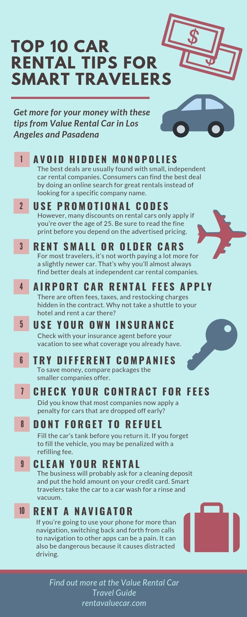 Pin On Rental Car Information And Infographics