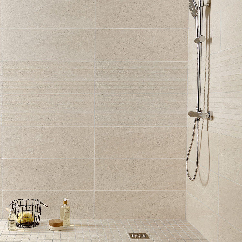 lambris pvc grosfillex salle de bain nouveau revetement  Beige