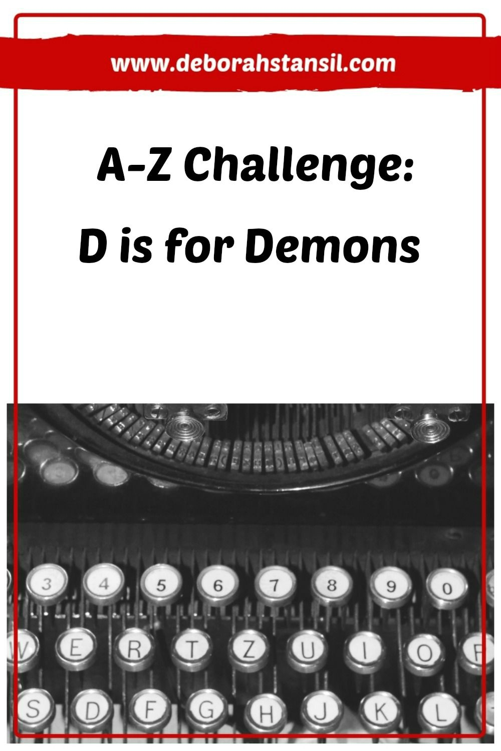 AZ Challenge D is for Demons Deborah Stansil