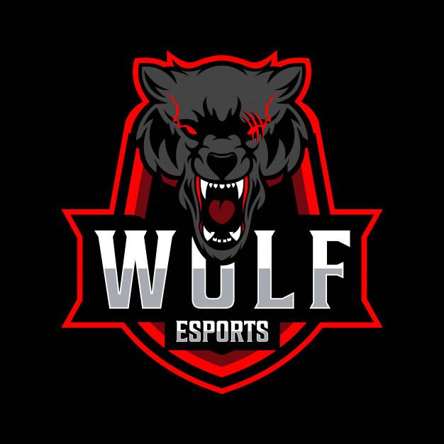 Pin on freepik wolf esport logo