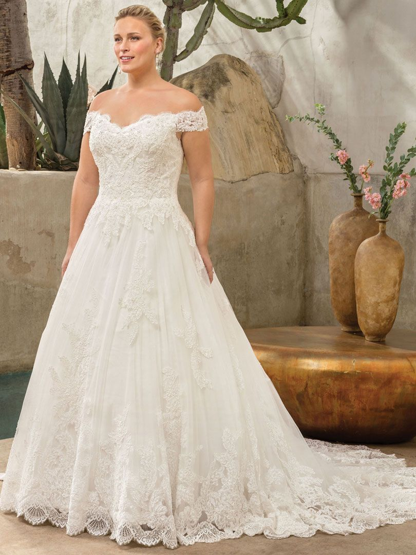 Casablanca bridal style c harlow classic fit wedding