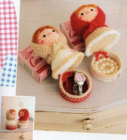 Russian dolls boxes