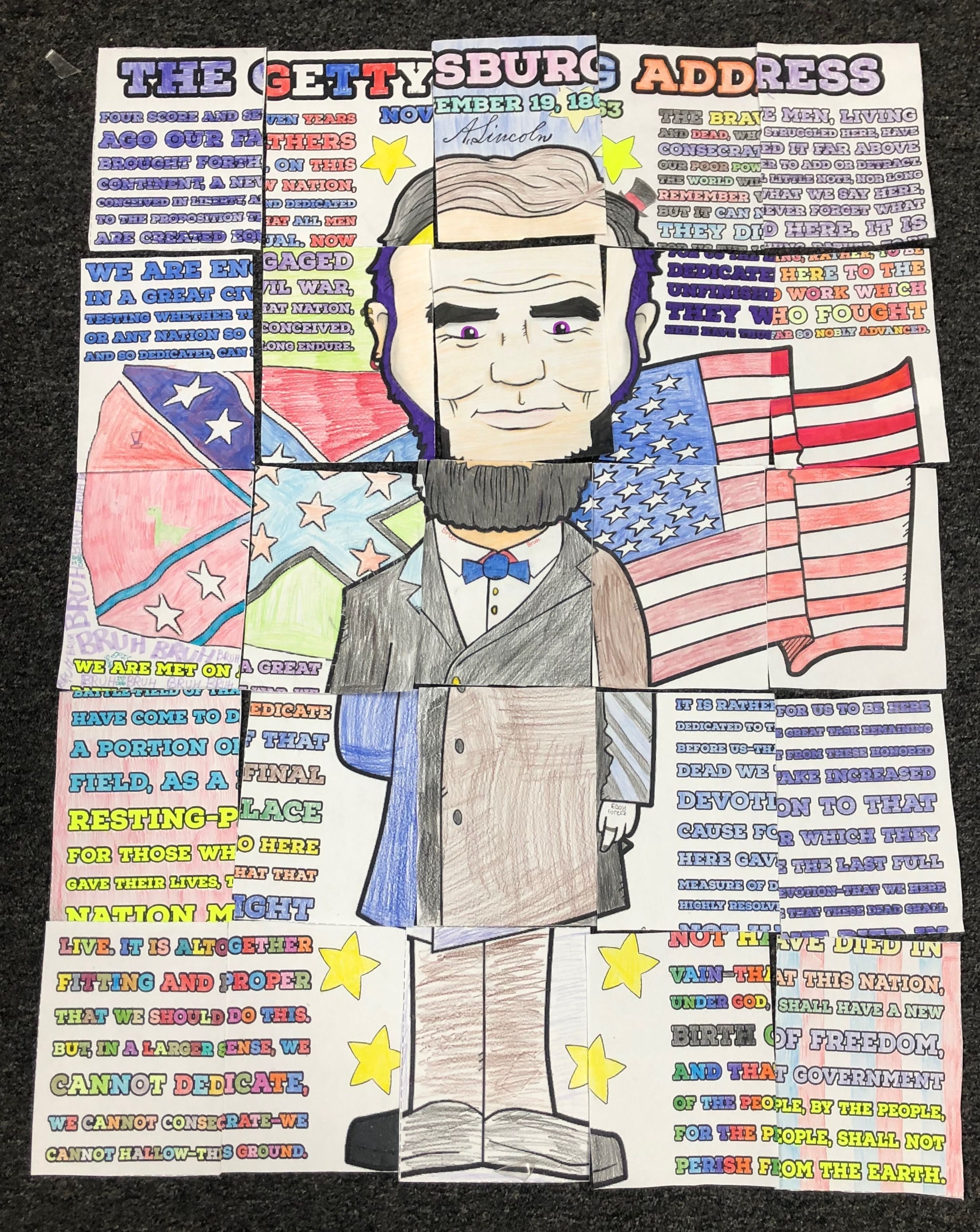 Abraham Lincoln The Gettysburg Address Collaborative