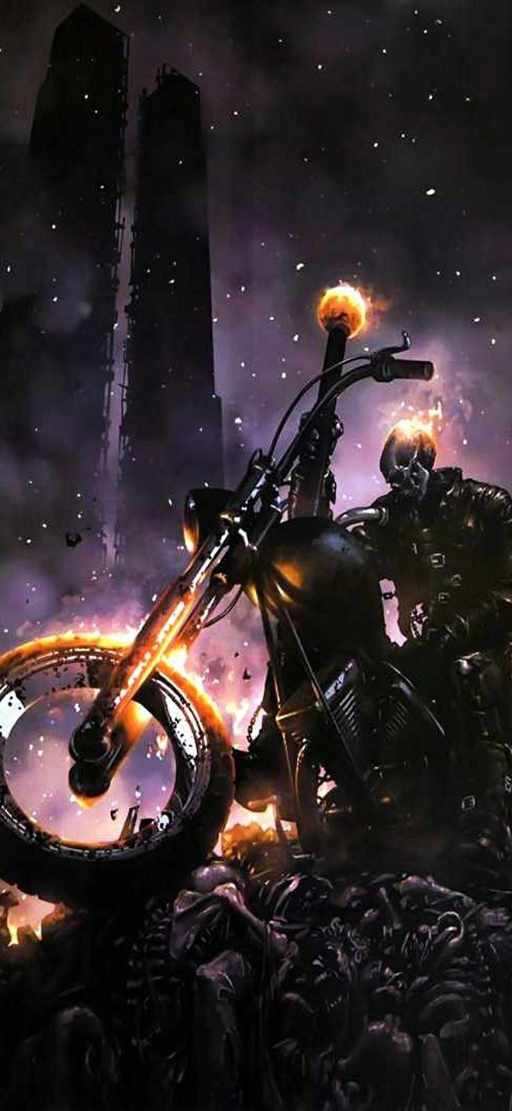 Ghost Rider Images Full Hd For Mobile Screen Wallpaper Background Ghost Rider Bike Images Hd Ghost R In 2020 Ghost Rider Images Ghost Rider Marvel Ghost Rider Tattoo