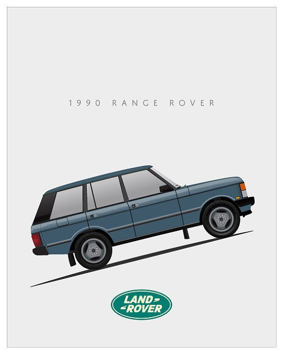 Legendary British 4x4 from Land Rover digitally illustrated and printed in color by Epson Artisan 1430 on Epson Ultra Premium matte or gloss stock. Perfect for buyer to frame in a standard 8x10 frame. Thank you for viewing and please see the other prints in this series.