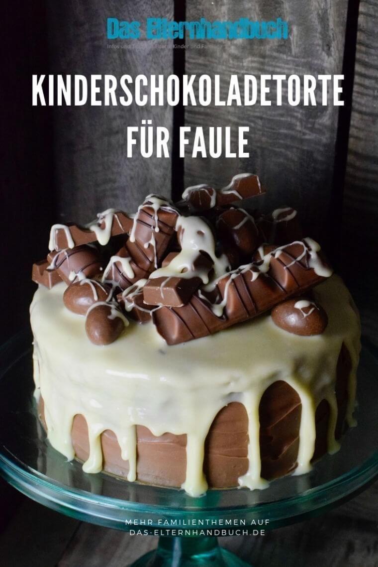 Photo of Essen, das Spaß macht: Kinderschokolade-Torte für Faule