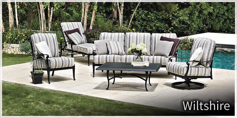 Woodard Wiltshire Outdoor Patio Furniture Sold At Trees N Trends Or At Www Treesntrends Com Outdoor Furniture Outdoor Furniture Collections Outdoor Furnishings