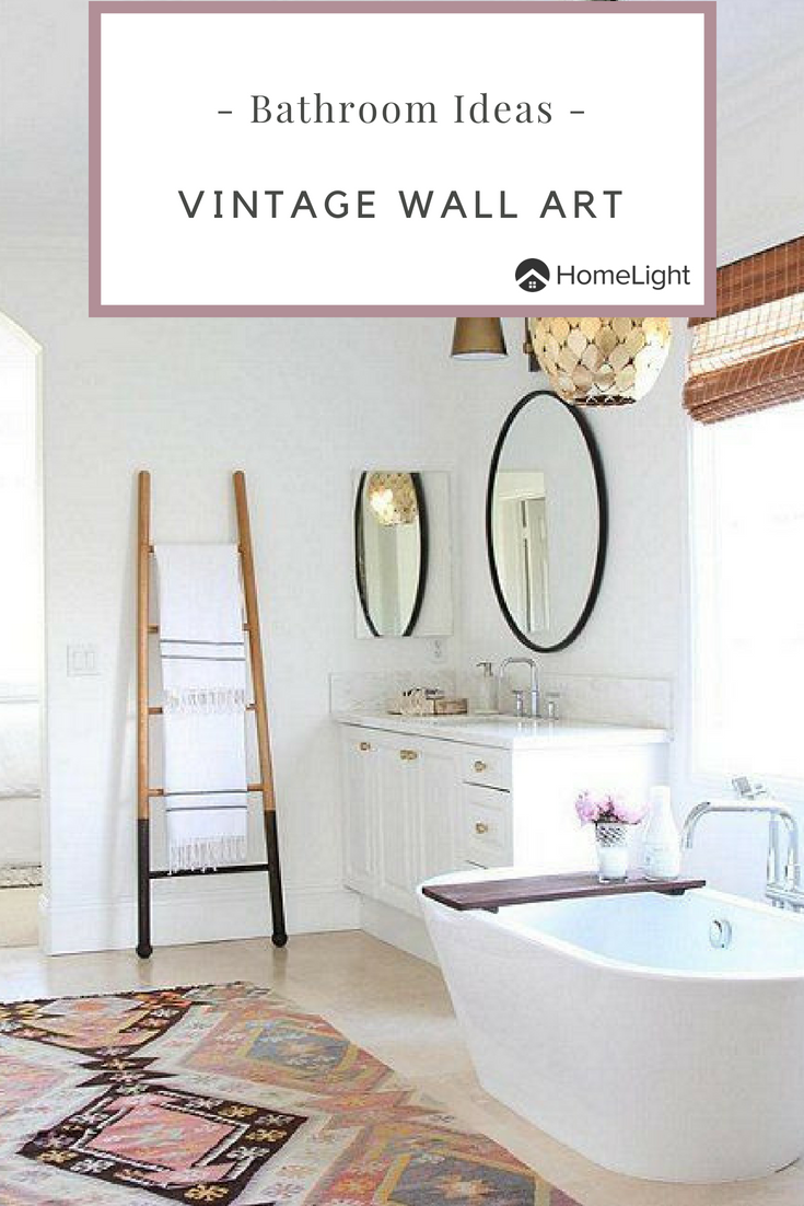 Vintage bathroom wall art ideas if youure looking for some great