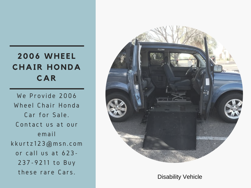 RARE!! #Wheelchair Accessible 2006 #Honda #Element 4DSW in Just ...