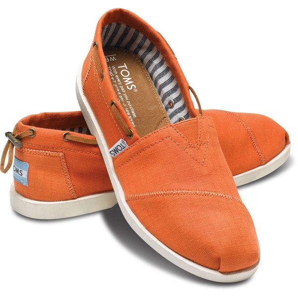 9927930f770 TOMS Orange Nautical Women s Biminis Size 5.5 ( 69) ❤ liked on Polyvore