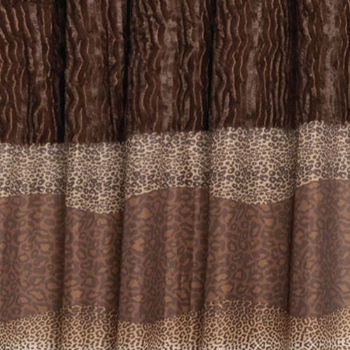 Felina Animal Print Shower Curtain   Cool Shower Curtains