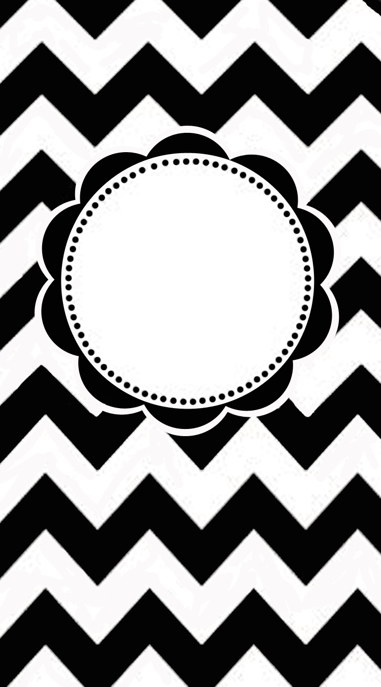 Free Printable To Make a Chevron Pattern Monogrammed iPhone Cover ...