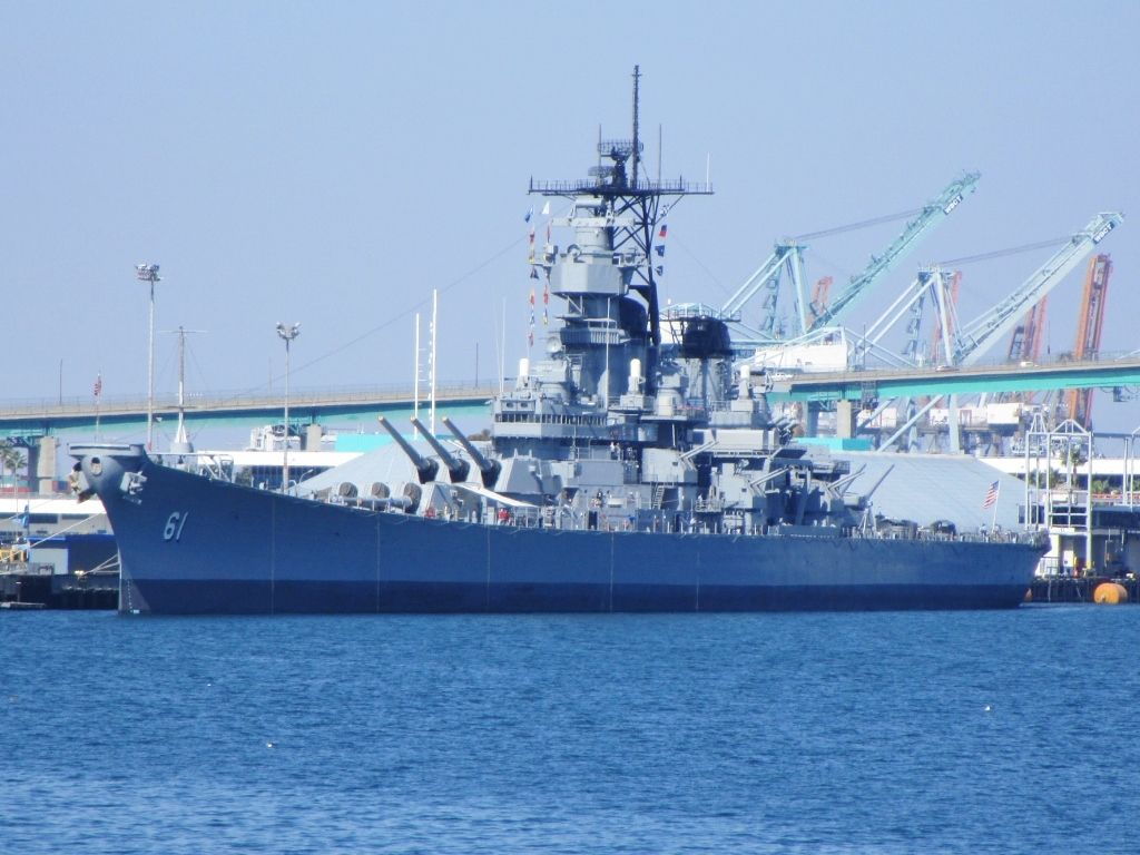 USS Iowa Big Stick