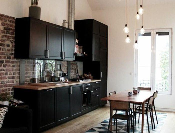 56 idées comment décorer son appartement! Deco y Hijos - Salle A Manger Parquet