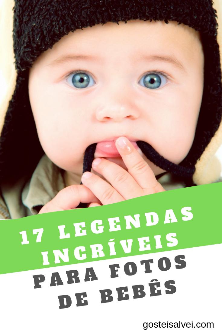 Clique No Pin E Veja 17 Legendas Para Fotos De Bebês