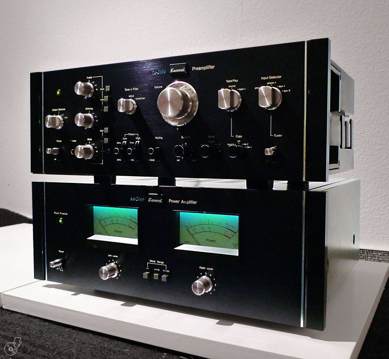 Hifi Rack Design The Sansui Sr-929 | Ca-2000 [440 Us$ L 1977-1979] & Ba