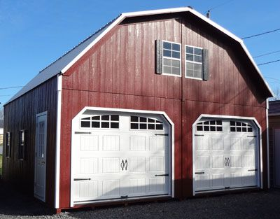 Amish Built Wood Garage Prices For Virginia And West Virginia
