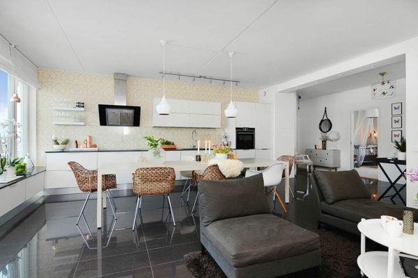 Design scandinave: 40 salons avec décoration scandinave ...
