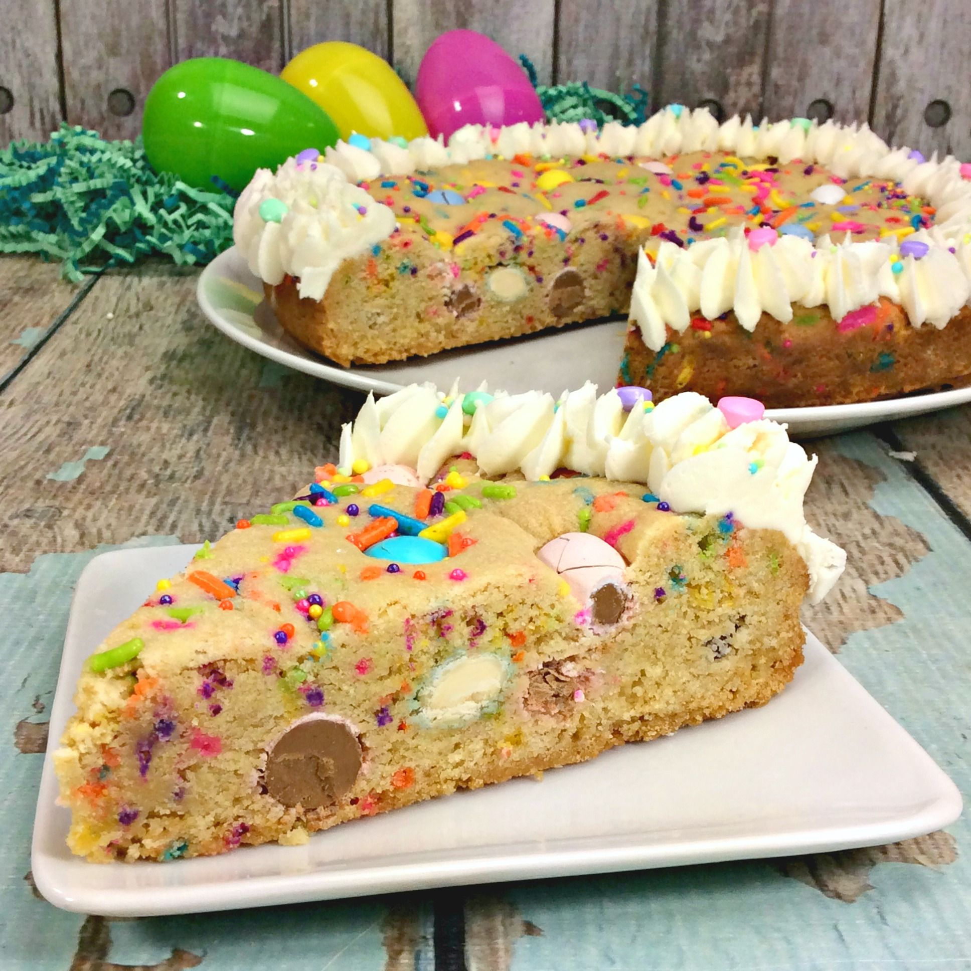 Easter Cookie Pie Recipe Easy Easter Desserts Easter Desserts